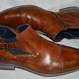 Ботинки кожа bugatti размер 43 44, ботінки шкіра