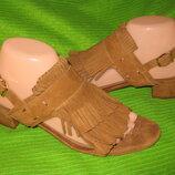 Босоножки,сандалии H&M,р.38-39 стелька 25,5см Кожа