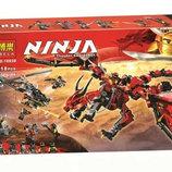Конструктор Ninja Bela 10938 Первый Страж 918дет аналог Lego Ninjago 70653 ниндзяго дракон
