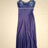 Платье женское нарядное фирмы debenhams длиной в пол р.8 36
