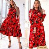 Очень красивое, милое платье 42 - 46 две расцветки