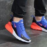 Кроссовки мужские Nike Air Max 270 blue/orange