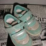 Качественные чудесные кроссовки ботинки superfit мятного цвета
