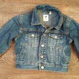 р.92, стильная джинсовая куртка