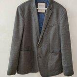 Модный трикотажные пиджак на подкладе р. L