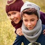 Новый деми комплект шапка и хомут для девочки Германия TCM Tchibo