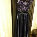 Праздничное торжественное выпускное платье