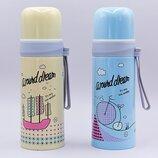 Бутылка для воды термос стальной Around dream 2363 2 цвета, объем 350мл