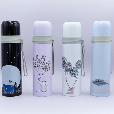 Бутылка для воды термос стальной Nature 8084 объем 500мл