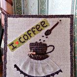 Ароматная картина- панно из зерен кофе