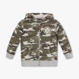 куртка кофта толстовка на меху для мальчика 98,104,110,116,122,128,134р C&A