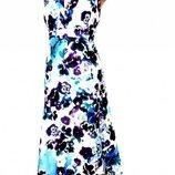 платье лен Per una Длина 103 ог 110 от 96 вискоза, котон, лен