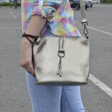 Классная сумка-кросбоди на длинной ручке, цвет серебро