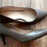 Кожаные туфли-лодочки Италия