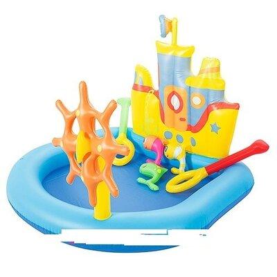 Детский надувной бассейн Bestway Корабль 52211