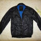 Крутая куртка ветровка на подкладке JACK & JONES р. 46-48 S оригинал