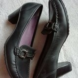 Туфли кожаные daniel hechter 36-3.5 размер стелька 23см Париж