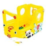 Детский надувной бассейн Bestway Вагончик 93506