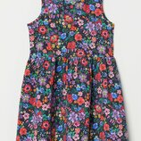 Платье сарафан NATHALIE LÉTÉ x H&M Цветы Оригинал Размеры на 2-10 лет