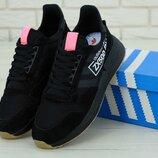 Мужские кроссовки Adidas ZX 500 Black
