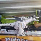 Крутой робозавр интерактивный
