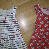 Летние платье сарафан 4-6 лет