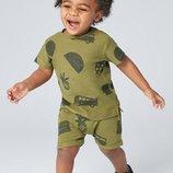 Комплект из футболки и шортов с принтом черепахи 3 мес.-7 лет
