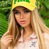 женская бейсболка «Pink» CL-410