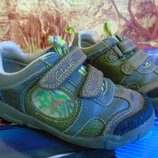Кожаные кроссовки Clarks 25р 16,5см