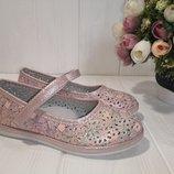 Очень красивые туфельки с перфорацией