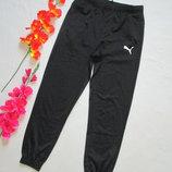 Фирменные подростковые спортивные эластиковые брюки Puma оригинал.