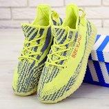 Мужские кроссовки Adidas Yeezy 350 Yellow