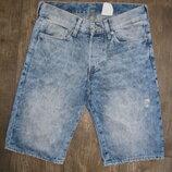 Шорты S мужские джинсовые W28 наш 44 размер Denim H&M