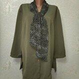 На шикарные формы Стильная нарядная блуза Bonmarche р.20 54-56-58