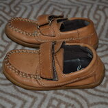 туфли мальчику Next 13 см 21 размер кожа Англия