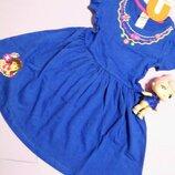 Трикотажное платье nickelodeon никелодеон даша следопыт 3-5 лет Disney