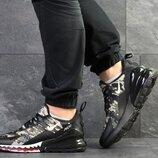 Nike Air Max 270 кроссовки мужские демисезонные милитари 7645