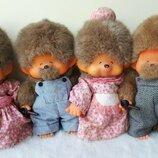Кукла мончичи monchichi Sekiguchi Japan Япония