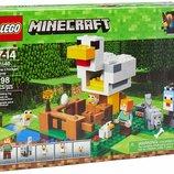 Лего майнкрафт Курятник 21140 Lego Minecraft The Chicken Coop