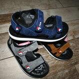 Кожаные босоножки сандали fila. 26-37.Цвета.