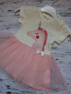 В наличии нарядные платья на малышей Турция
