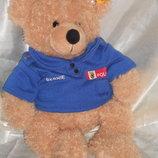 шикарный Мишка Медведь Fynn Штайфф Steiff Германия оригинал кнопка 29 см