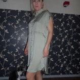 Легенькое ,стильное платье-рубашку Next ,р.12,