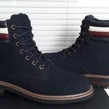 Tommy hilfiger оригинал кожаные ботинки 45 29.5 см по ст.