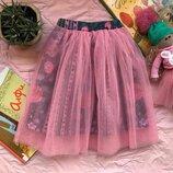 Нарядная юбка фатин Handmade на возраст примерно 2-4 года