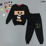 Костюм Mickey Mouse Микки Маус унисекс кофта и штаны.