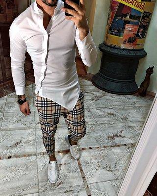 Черная и белая. Топ качество. Хит 2019. Стильная Рубашка косуха S, M, L, XL, XXL F 350