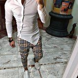 Черная и белая. Топ качество. Хит 2019. Стильная Рубашка косуха S, M, L, XL, XXL