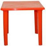 Стол пластиковый квадратный. Пластиковая мкбель