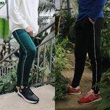 Мужские спортивные штаны с лампасами BRN 19, р.S-L